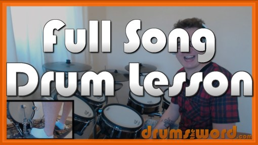 """Hotel California"" - (The Eagles) Full-Song Video Drum Lesson Notation Chart Transcription Sheet Music Drum Lesson"