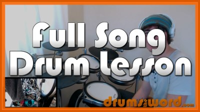 """Misery Business"" - (Paramore) Full-Song Video Drum Lesson Notation Chart Transcription Sheet Music Drum Lesson"