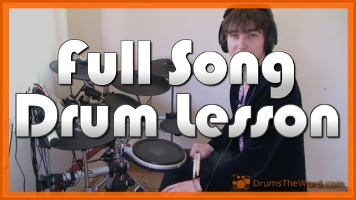 """Sunshine Of Your Love"" - (Cream) Full-Song Video Drum Lesson Notation Chart Transcription Sheet Music Drum Lesson"