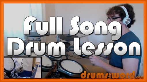 """""""You Know You're Right"""" - (Nirvana) Full-Song Video Drum Lesson Notation Chart Transcription Sheet Music Drum Lesson"""