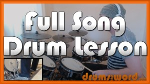"""Gimme All Your Lovin'"" - (ZZ Top) Full-Song Video Drum Lesson Notation Chart Transcription Sheet Music Drum Lesson"