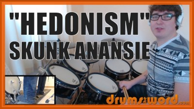 """Hedonism"" - (Skunk Anansie) Full-Song Video Drum Lesson Notation Chart Transcription Sheet Music Drum Lesson"