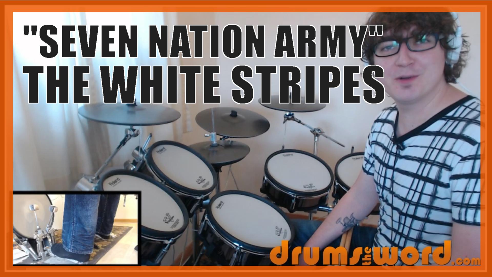 SEVEN NATION ARMY (The White Stripes: Meg White)