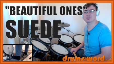 """Beautiful Ones"" - (Suede) Full-Song Video Drum Lesson Notation Chart Transcription Sheet Music Drum Lesson"
