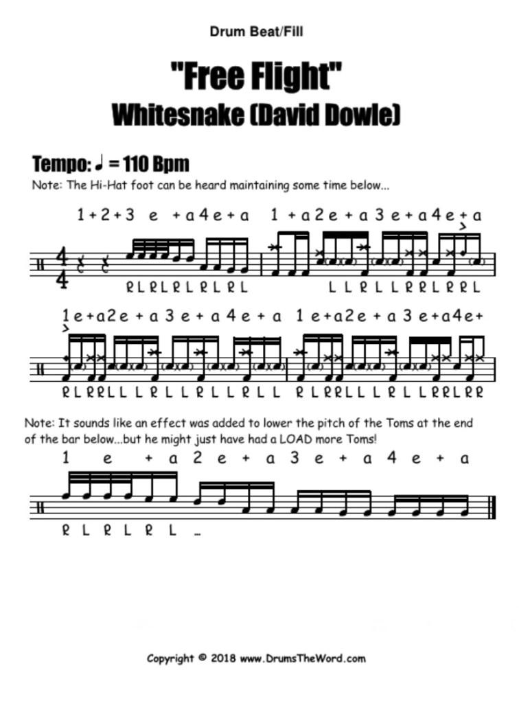 Free Flight Intro (Whitesnake)