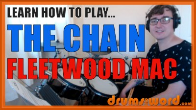 """The Chain"" - (Fleetwood Mac) Full-Song Video Drum Lesson Notation Chart Transcription Sheet Music Drum Lesson"