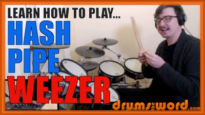 """Hash Pipe"" - (Weezer) Full-Song Video Drum Lesson Notation Chart Transcription Sheet Music Drum Lesson"