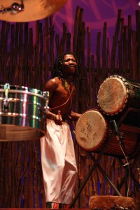 Malutsi Drumming on the Bass