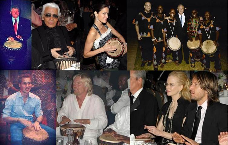 Drumming Celebrities