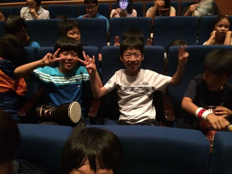 Korean kids loving the show