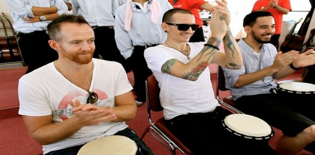 Linkin Park with Drum Struck