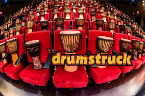 Audience Drums on Seats Drum Struck
