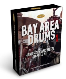Bay Area 1 Metal Drum Samples | Complete Drum Kit, Cymbals for Modern Metal