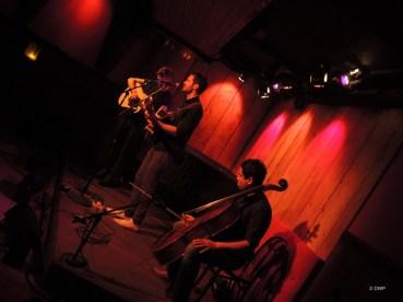 Declan, Alon and Arthur Darvill