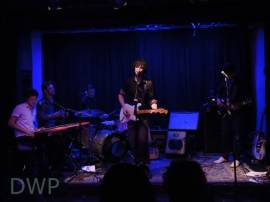 Lee Pardini and Erin Sidney join Dave Brophy and Kimon Kirk in Will's band