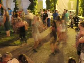 Dancing to the Pine Leaf Boys in Lowell