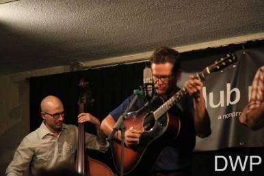 Trent Wagler on guitar, Brian Dickel on bass