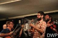 Jay Lapp plays mandolin