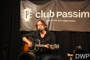 Hayes Carll onstage at Club Passim