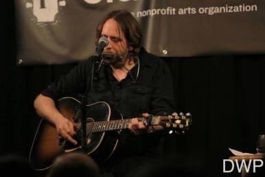 Hayes Carll on guuitar and harmonica