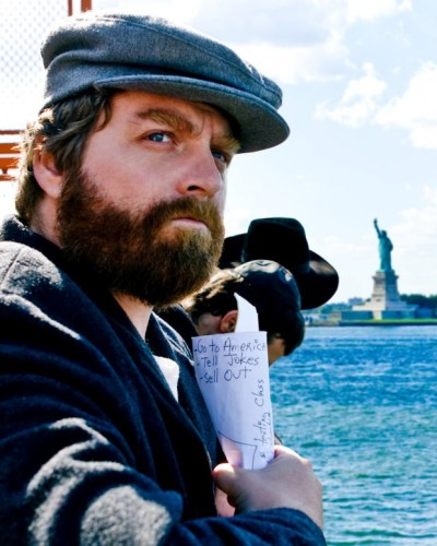 Zach Galifianakis had a plan