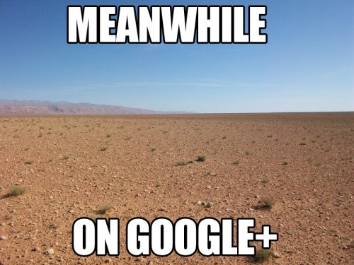 meanwhile on google plus 500x375 meanwhile   on google plus