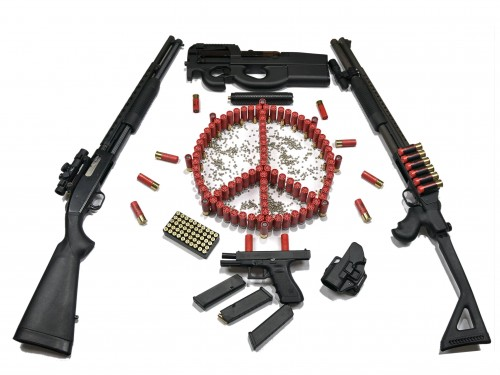 peaceful weapons