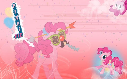 pinkie pie is so random 500x312 pinkie pie is so random