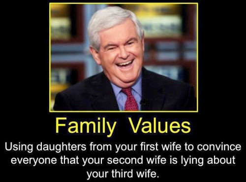family values – newt edition