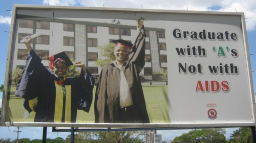 graduate with As not with AIDS 500x280 graduate with As not with AIDS