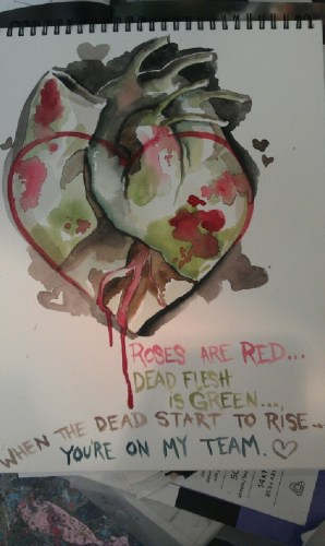 roses are red…