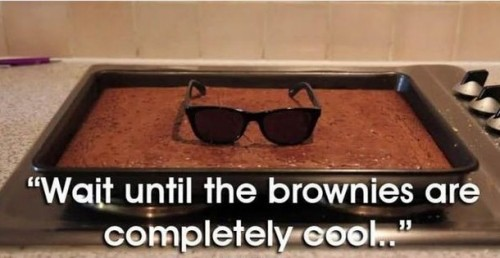 wait until the brownies are completely cool 500x258 wait until the brownies are completely cool