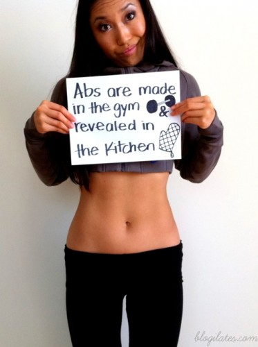 abs are made in the gym and revealed in the kitchen 373x500 abs are made in the gym and revealed in the kitchen
