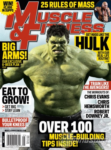 hulk was on the cover of muscle and fitness 370x500 hulk was on the cover of muscle and fitness