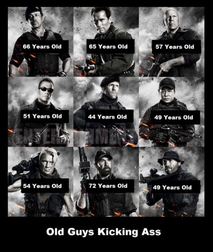 old guys kicking ass expendables by age 423x500 old guys kicking ass   expendables by age