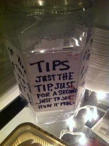tips just the tip just for a second 373x500 tips   just the tip, just for a second