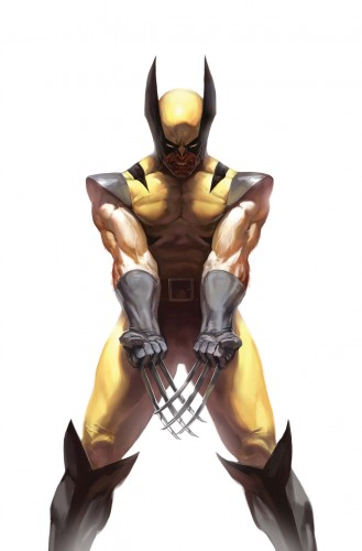 wolverine shows his claws 329x500 wolverine shows his claws