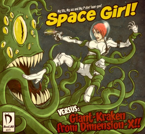 Space Girl 500x462 Space Girl