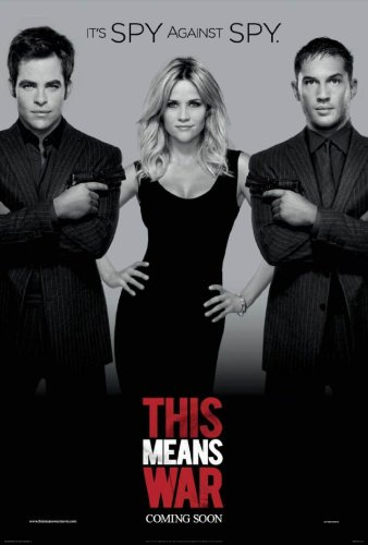 This Means War movie poster 338x500 This Means War movie poster