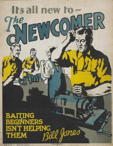 its all new to the newcomer 389x500 its all new to the newcomer