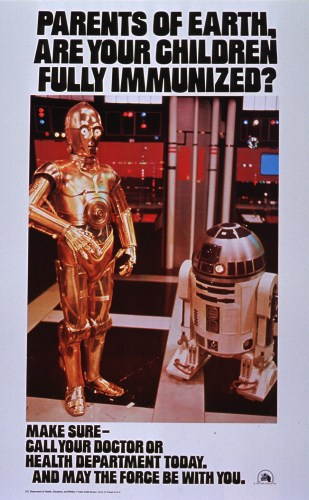 parents of earth are your children fully immunized star wars vacination advertisement 309x500 parents of earth   are your children fully immunized   star wars vacination advertisement