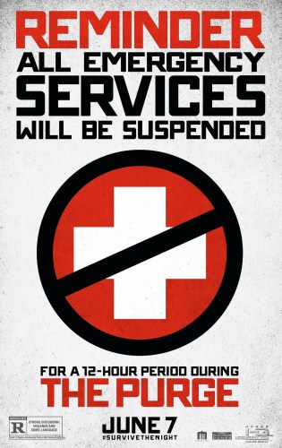 the purge movie poster 315x500 the purge movie poster