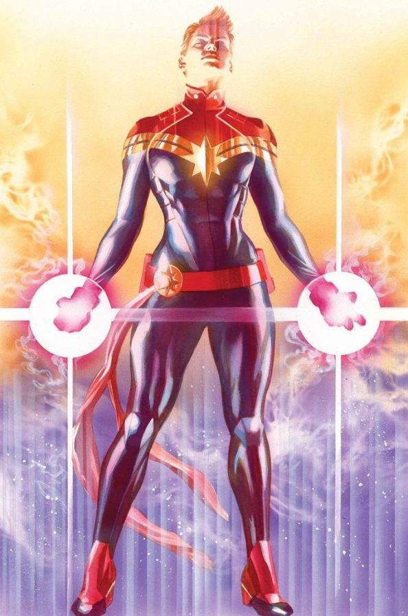 CAPTAIN MARVEL VARIANT COVER BY ALEX ROSS POSTER 678x1024 CAPTAIN MARVEL VARIANT COVER BY ALEX ROSS POSTER