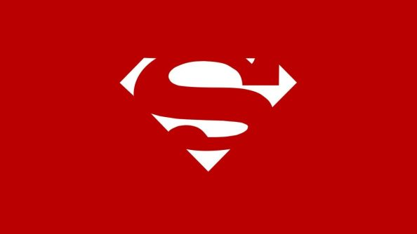 red and white superman logo wallpaper 1024x576 red and white superman logo wallpaper