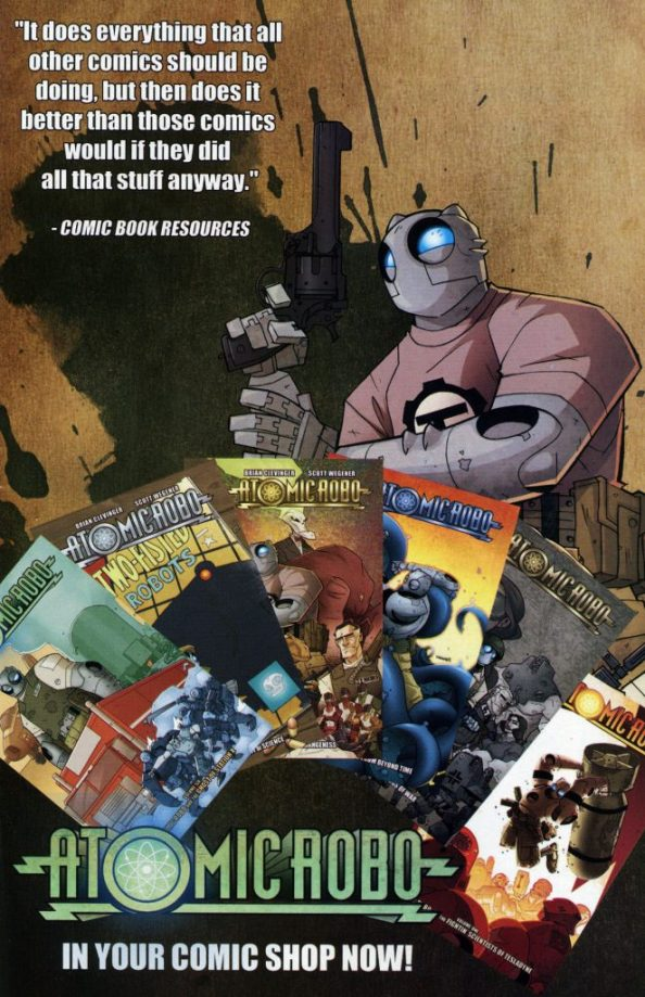 Atomic Robo in your comic shop now 662x1024 Atomic Robo in your comic shop now
