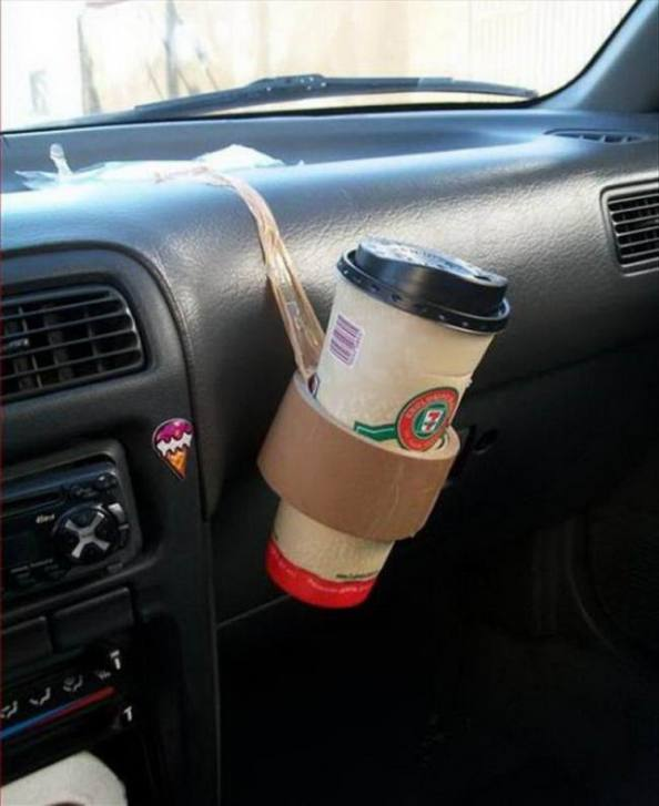 Tape Cup Holder Tape Cup Holder