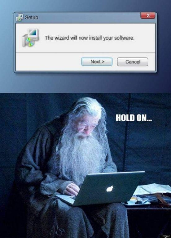 Installation wizard Installation wizard