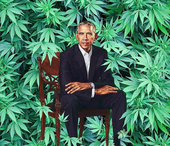 Obama the pot lord Obama the pot lord