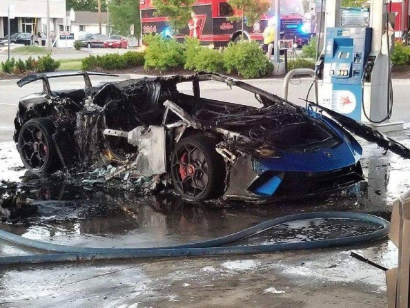 melted sports car melted sports car