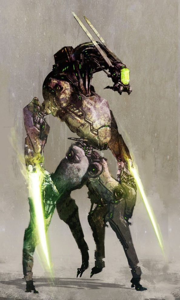 Green Blade Cybernetic Soldier
